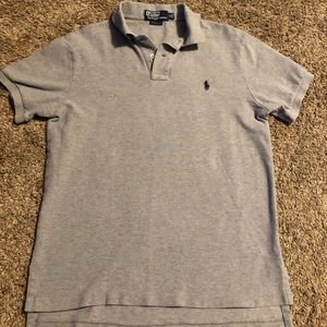 Ralph Lauren polo shirt size M. Gray and blue
